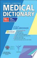 Churchill Livingstone Medical Dictionary E Book