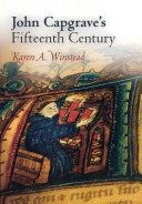 John Capgrave s Fifteenth Century