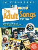 Joel Whitburn Presents Billboard Top Adult Songs, 1961-2006 Pdf/ePub eBook