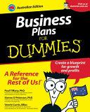 List of Dummies Business Plan E-book