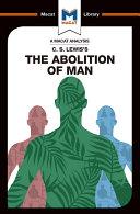 The Abolition of Man Pdf/ePub eBook
