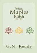 Pdf When Maples Blush