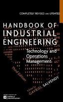 Handbook of Industrial Engineering