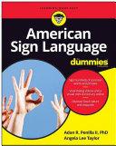 American Sign Language For Dummies Pdf/ePub eBook