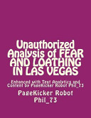 Unauthorized Analysis of Fear and Loathing in Las Vegas Book PDF