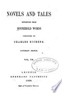 Novels and Tales Reprinted from Household Words