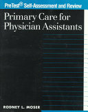 Primary Care for Physician Assistants Book