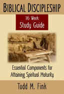 Biblical Discipleship Study Guide Book