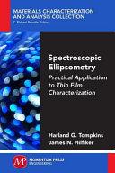 Spectroscopic Ellipsometry
