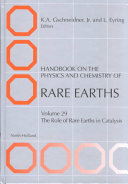 Handbook On The Physics And Chemistry Of Rare Earths Book PDF