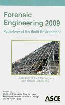 Forensic Engineering 2009 Book