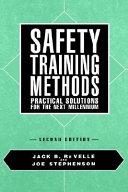 Safety Training Methods