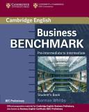 Business Benchmark Pre-Intermediate to Intermediate Student's Book BEC Preliminary Edition