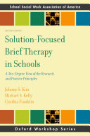 Solution-Focused Brief Therapy in Schools