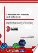 Semiconductor Materials and Technology Book