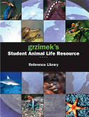 Grzimek S Student Animal Life Resource Cumulative Index