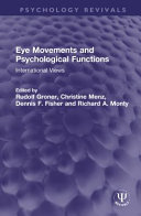 Eye Movements and Psychological Functions Book