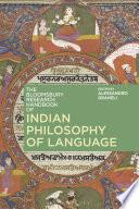 The Bloomsbury Research Handbook of Indian Philosophy of Language