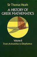 A History of Greek Mathematics: From Aristarchus to Diophantus