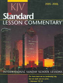 Standard Lesson Commentary 2005 2006
