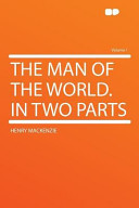 The Man of the World in Two Parts Book
