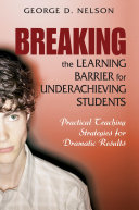 Breaking the Learning Barrier for Underachieving Students ebook