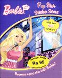 Barbie Pop Star Sticker Scene