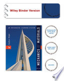 Mechanics of Materials: An Integrated Learning System 3e Binder Ready Version + WileyPLUS Registration Card