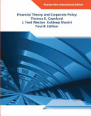 Financial Theory and Corporate Policy