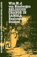 Religious Change in Zambia