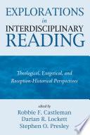 Explorations In Interdisciplinary Reading