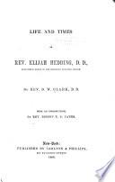 Life and Times of Elijah Hedding, D.D.