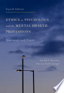 Ethics in Psychology and the Mental Health Professions Book