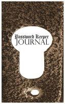 Password Journal Password Keeper