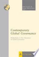 Contemporary Global Governance