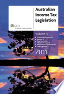 Australian Income Tax Legislation 2011: Taxation Administration Act