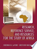 Research  Reference Service  and Resources for the Study of Africa