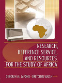 Research, Reference Service, and Resources for the Study of Africa [Pdf/ePub] eBook