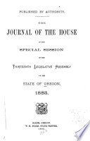Journal of the House of the Legislative Assembly of the State of Oregon Book PDF