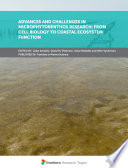Advances and Challenges in Microphytobenthos Research: From Cell Biology to Coastal Ecosystem Function