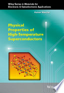 Physical Properties of High Temperature Superconductors Book