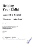 Helping Your Child Succeed In School Book PDF