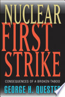 Nuclear First Strike Book