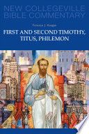 First And Second Timothy Titus Philemon