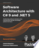 Software Architecture with C  9 and  NET 5