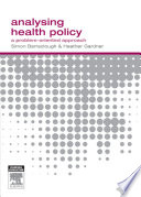 Analysing Health Policy Book PDF