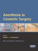 Anesthesia in Cosmetic Surgery