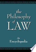 The Philosophy of Law Book
