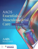 AAOS Essentials of Musculoskeletal Care Book