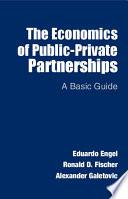 The Economics of Public Private Partnerships Book